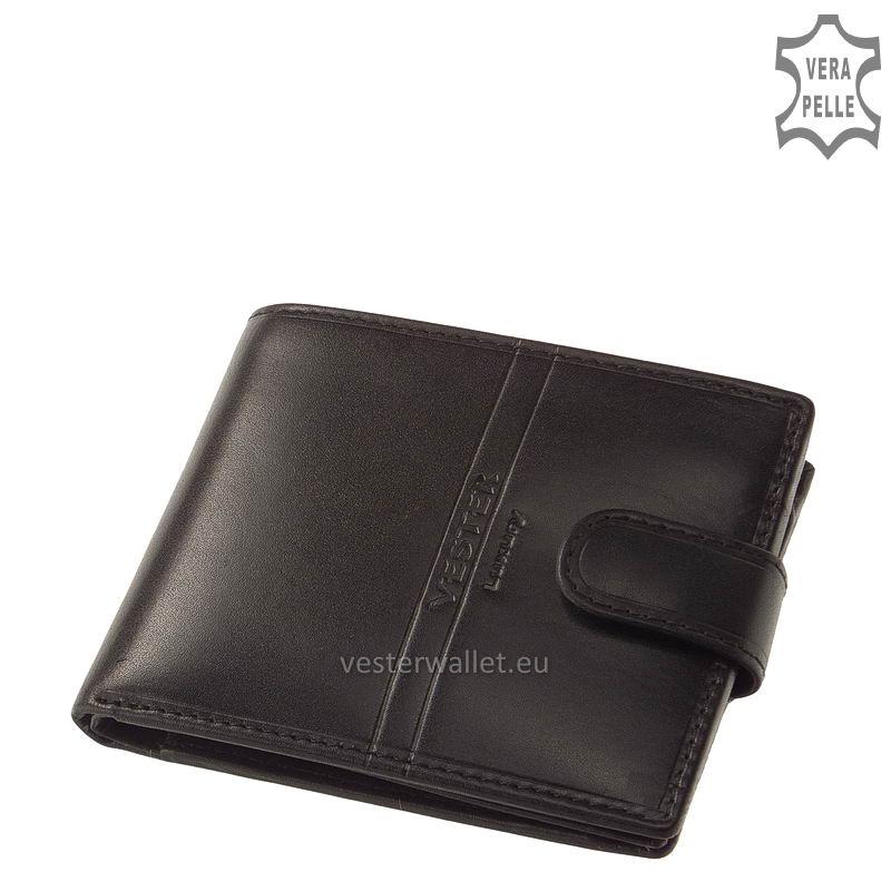 Exkluzív Vester pénztárca VF09/T fekete