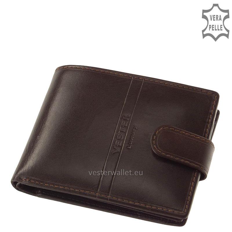 Exkluzív Vester pénztárca VF09/T barna