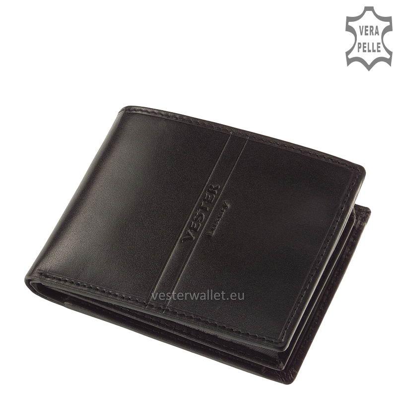 Exkluzív Vester pénztárca VF09 fekete