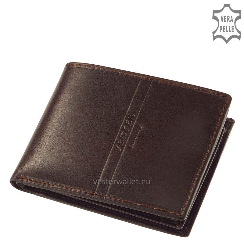 Exkluzív Vester pénztárca VF09 barna