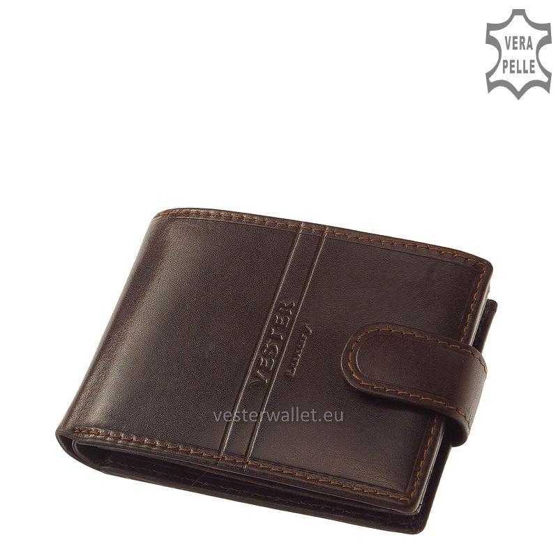Exkluzív Vester pénztárca VF102/T barna