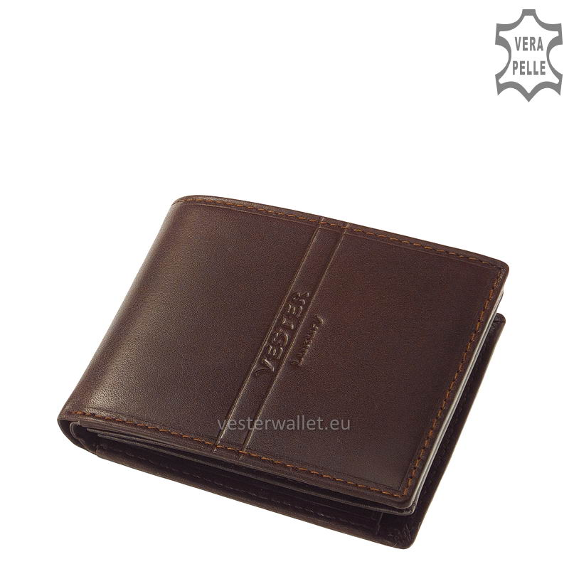 Exkluzív Vester pénztárca VF102 barna
