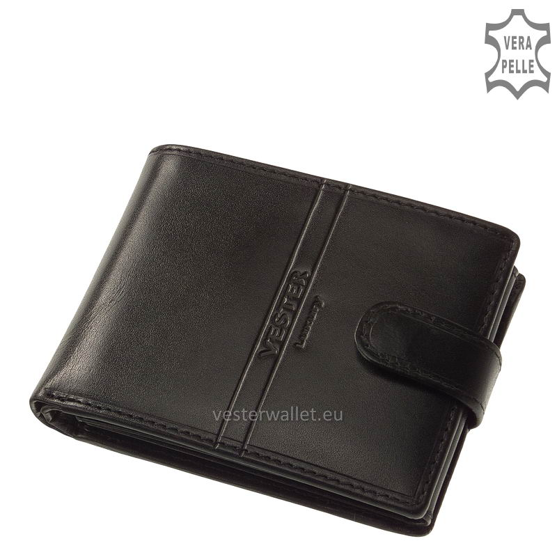 Exkluzív Vester pénztárca VF1021/T fekete