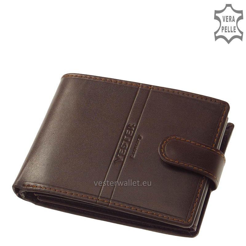 Exkluzív Vester pénztárca VF1021/T barna