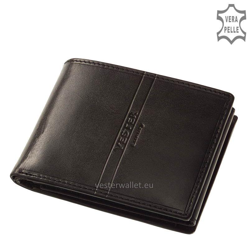 Exkluzív Vester pénztárca VF1021 fekete