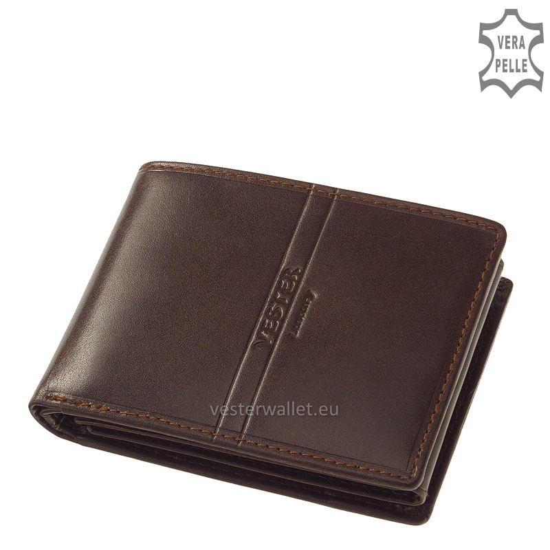 Exkluzív Vester pénztárca VF1021 barna