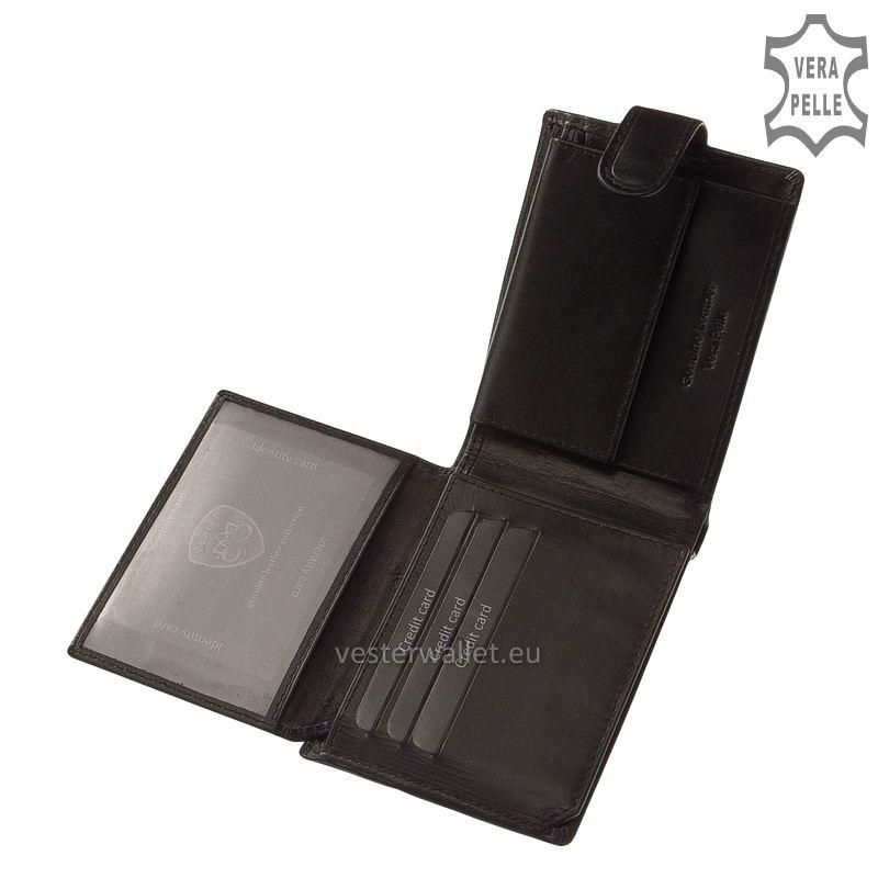 Exkluzív Vester pénztárca VF1027/T fekete belső kép-2
