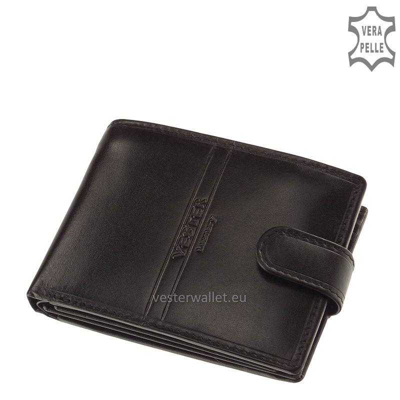 Exkluzív Vester pénztárca VF1027/T fekete
