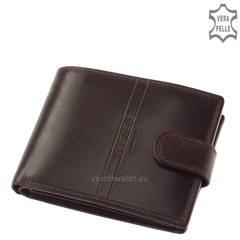 Exkluzív Vester pénztárca VF1027/T barna