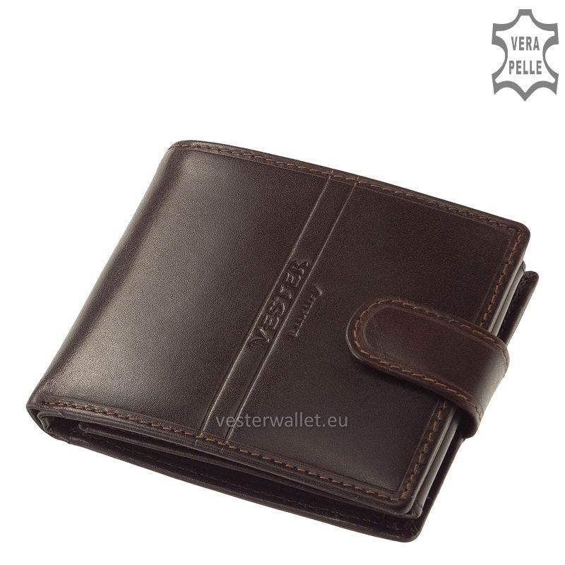 Exkluzív Vester pénztárca VF6002L/T barna