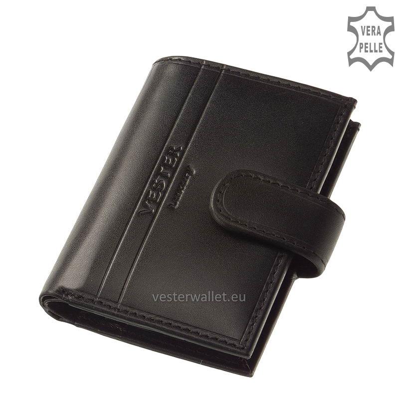 Exkluzív Vester kártyatartó VF808/T fekete