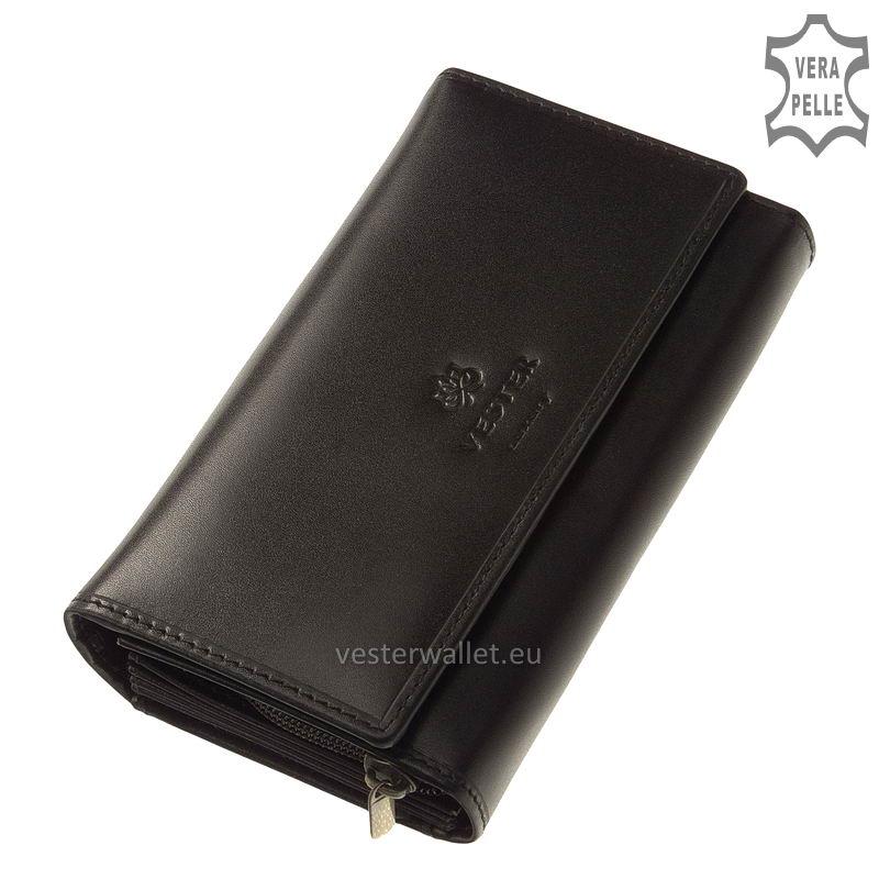 Vester Luxury női pénztárca VLN100 fekete