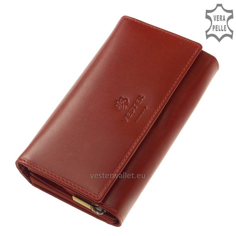 Vester Luxury női pénztárca VLN100 piros