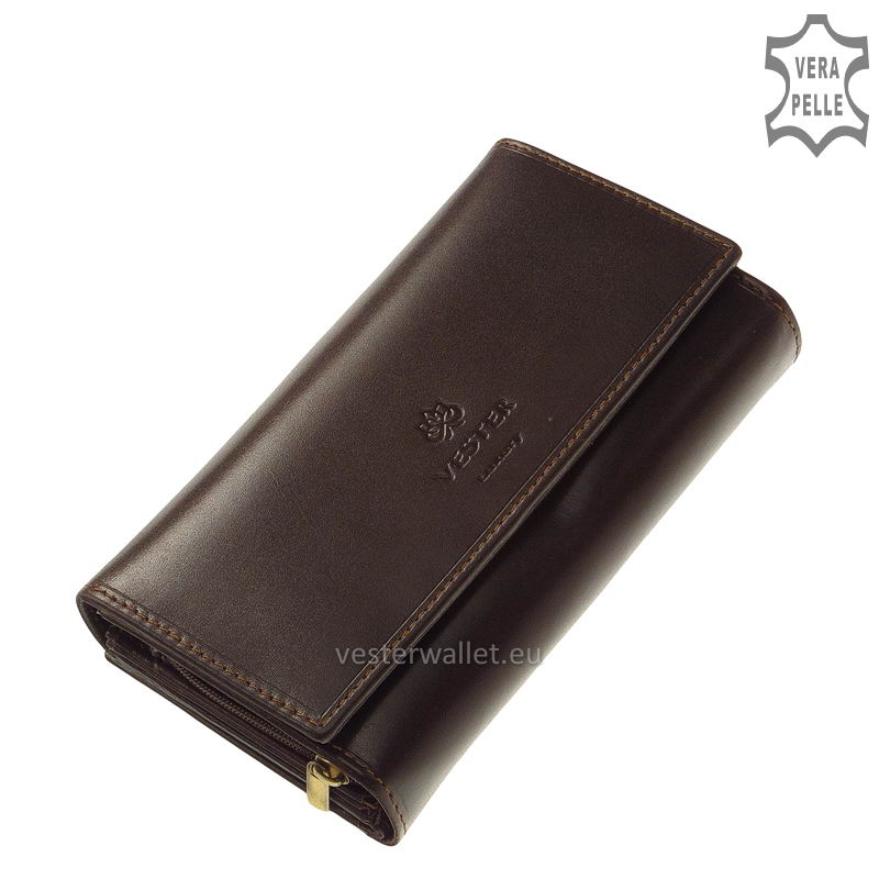 Vester Luxury női pénztárca VLN601 barna