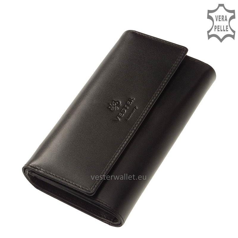 Vester Luxury női pénztárca VLN602 fekete