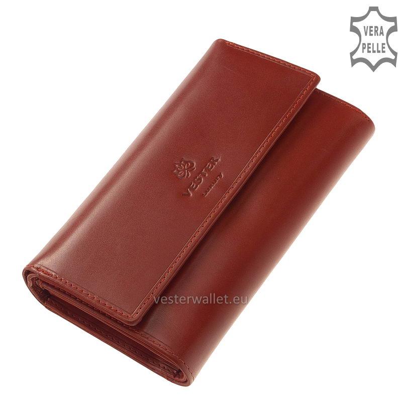 Vester Luxury női pénztárca VLN602 piros