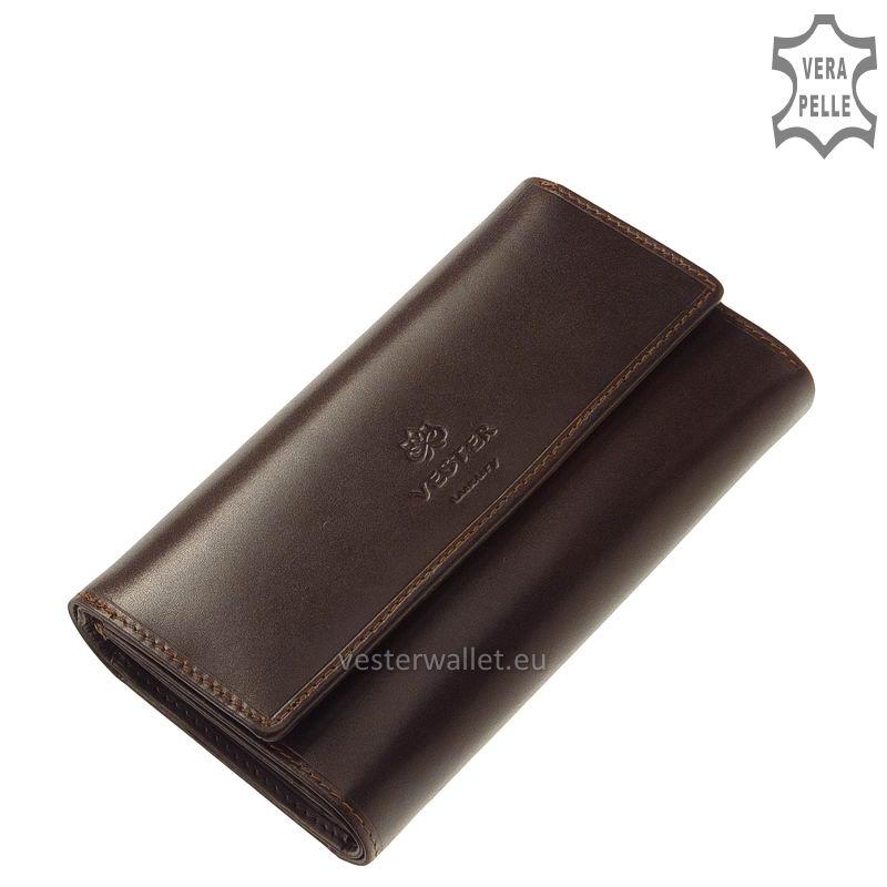 Vester Luxury női pénztárca VLN602 barna