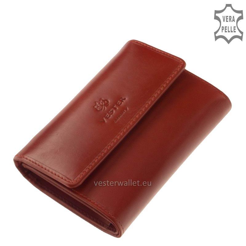 Vester Luxury női pénztárca VLN603 piros