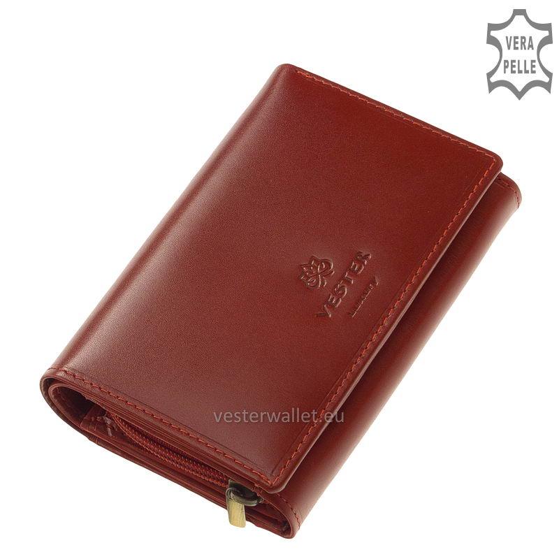 Vester Luxury női pénztárca VLN604 piros