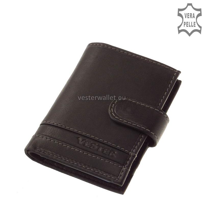 Stílusos Vester férfi kártyatartó VMV808/T fekete