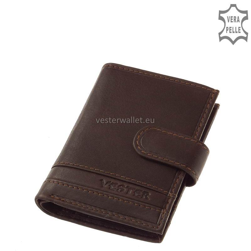 Stílusos Vester férfi kártyatartó VMV808/T barna