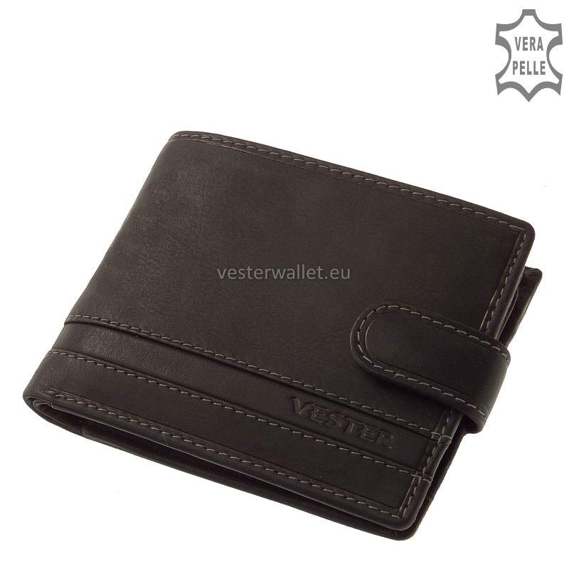 Stílusos Vester férfi pénztárca VMV09/T fekete