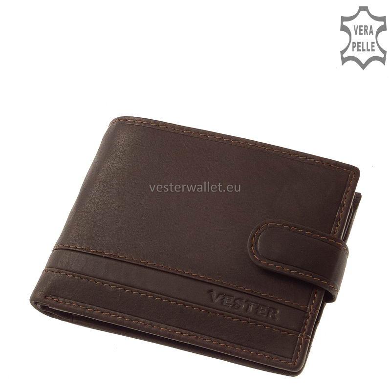 Stílusos Vester férfi pénztárca VMV09/T barna