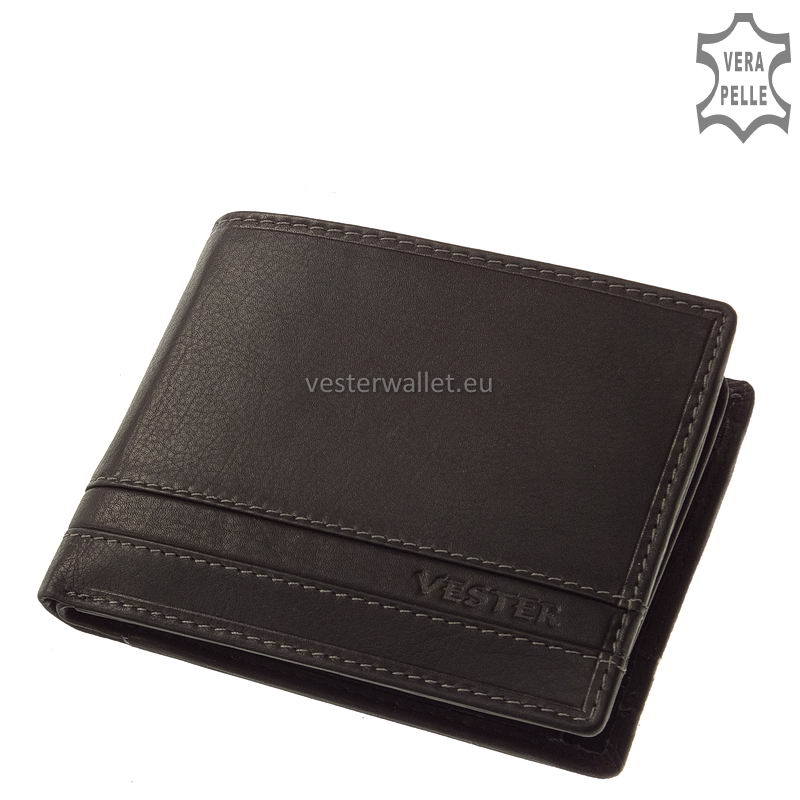 Stílusos Vester férfi pénztárca VMV09 fekete