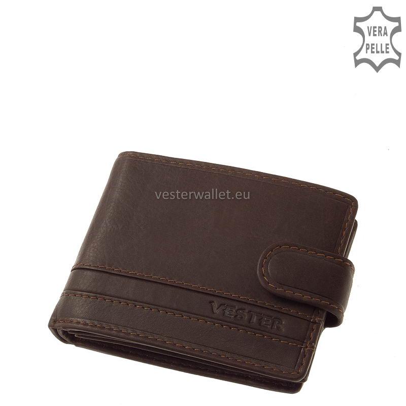 Stílusos Vester férfi pénztárca VMV102/T barna