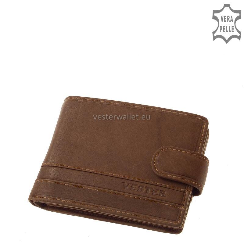 Stílusos Vester férfi pénztárca VMV102/T világos barna