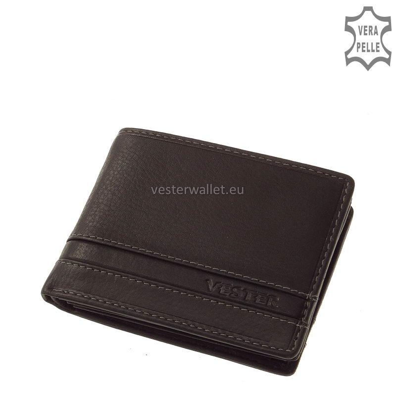 Stílusos Vester férfi pénztárca VMV102 fekete