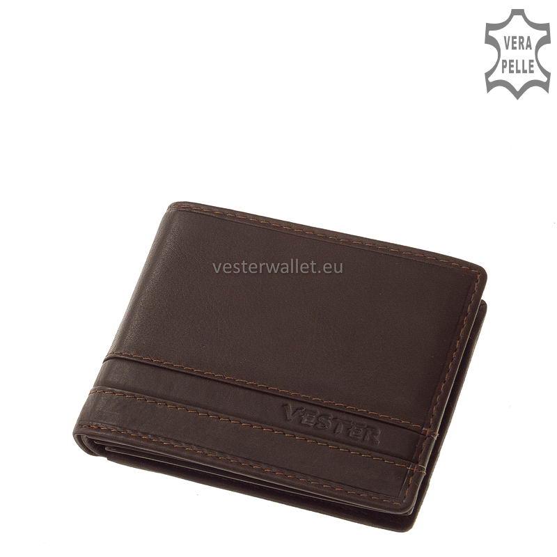 Stílusos Vester férfi pénztárca VMV102 barna
