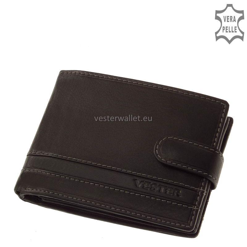 Stílusos Vester férfi pénztárca VMV1021/T fekete