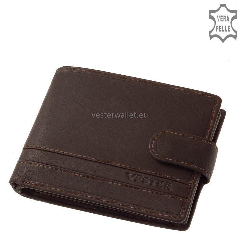 Stílusos Vester férfi pénztárca VMV1021/T barna