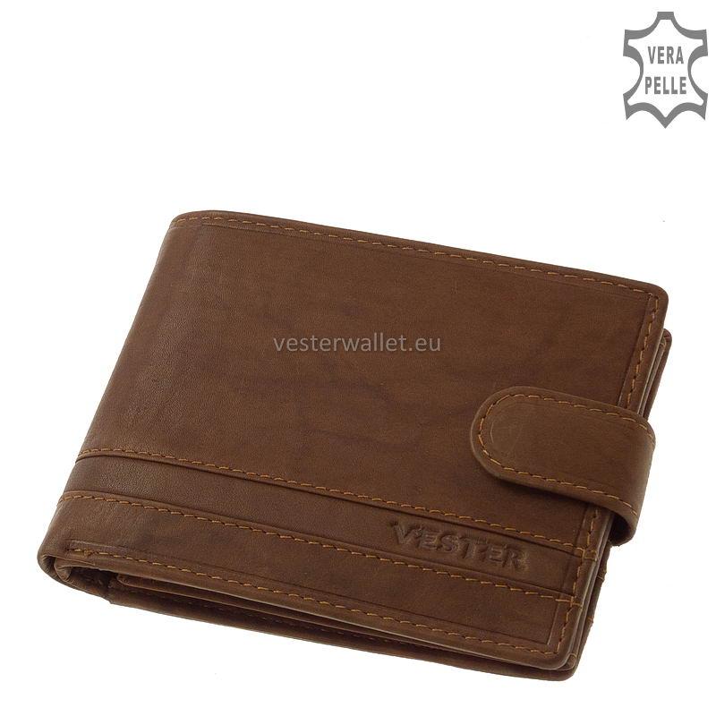 Stílusos Vester férfi pénztárca VMV1021/T világos barna