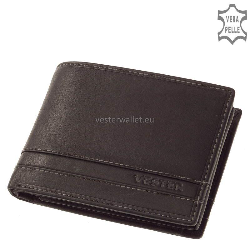 Stílusos Vester férfi pénztárca VMV1021 fekete