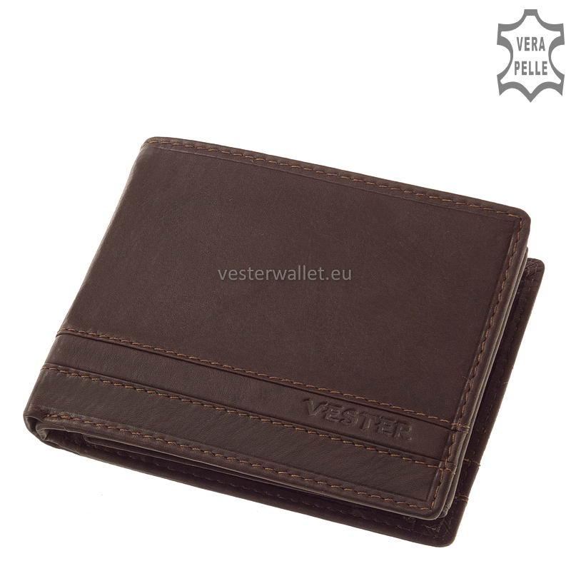 Stílusos Vester férfi pénztárca VMV1021 barna