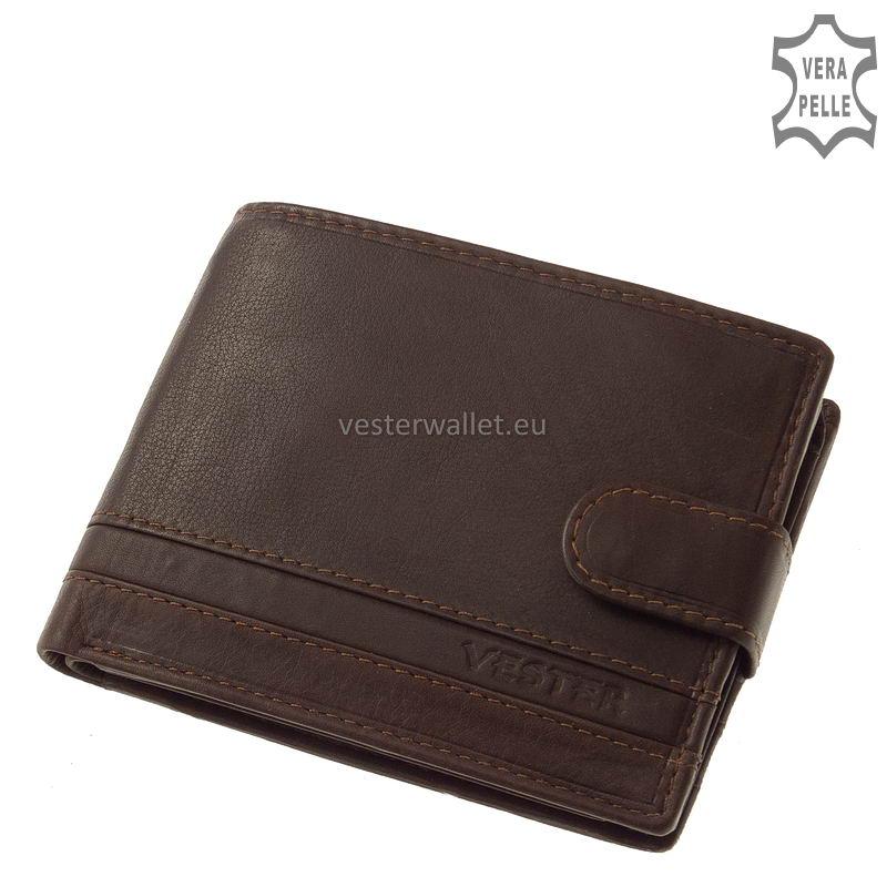 Stílusos Vester férfi pénztárca VMV1027/T barna
