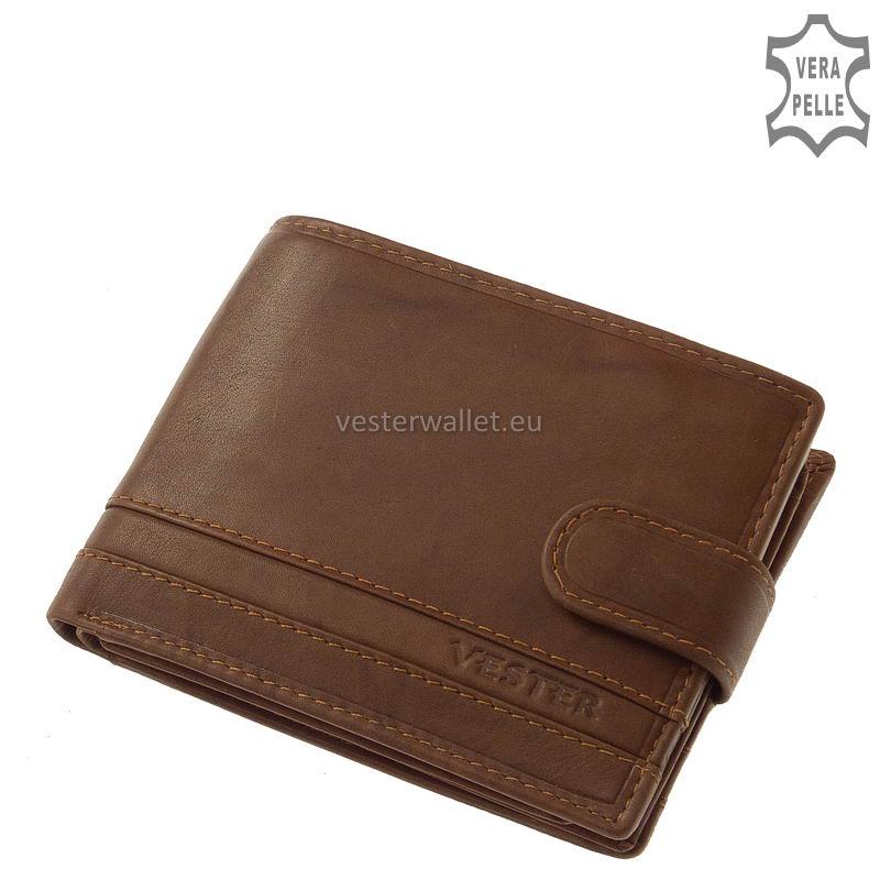 Stílusos Vester férfi pénztárca VMV1027/T világos barna