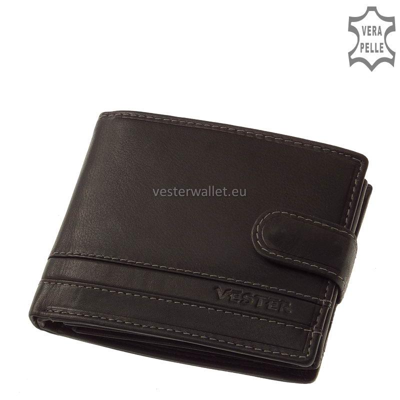 Stílusos Vester férfi pénztárca VMV6002L/T fekete