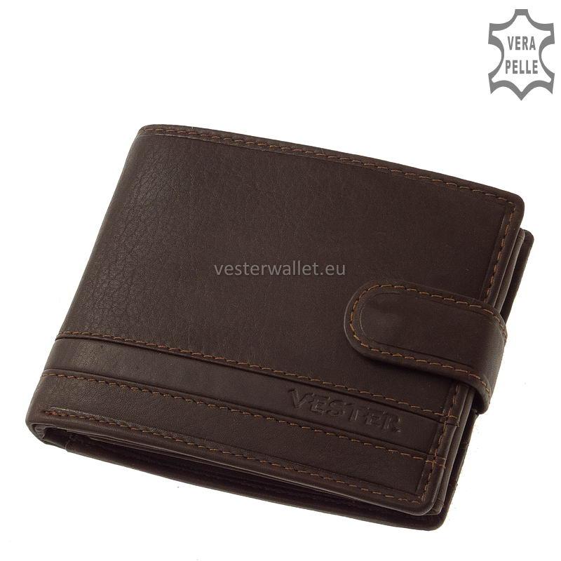 Stílusos Vester férfi pénztárca VMV6002L/T barna