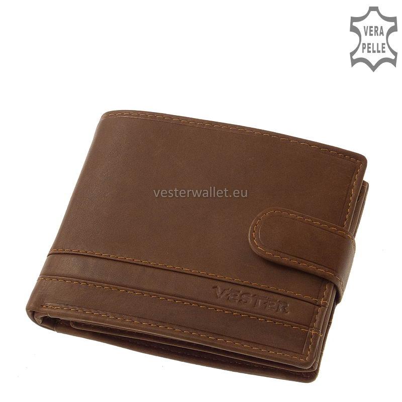 Stílusos Vester férfi pénztárca VMV6002L/T világos barna